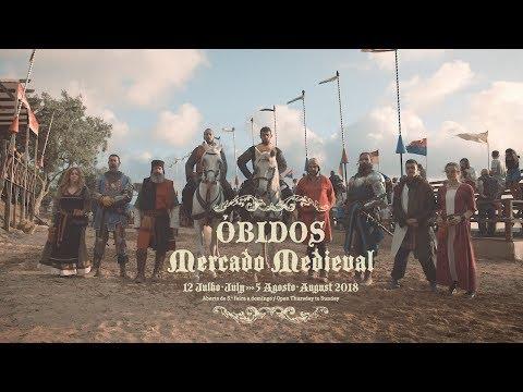 Artes e Mesteres no Mercado Medieval de Óbidos 2018