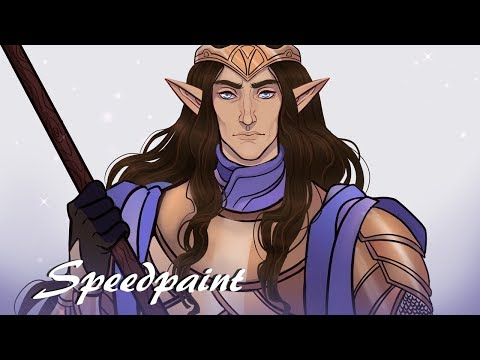 The High King, Gil-Galad: LotR/Silmarillion Speedpaint!