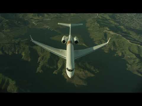 Premier avion daffaires avec déclaration environnementale de produit