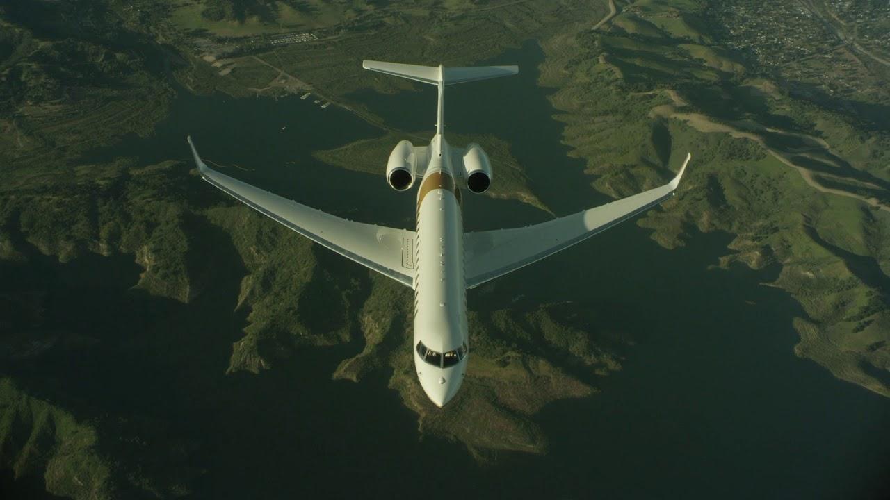 Premier avion d'affaires avec déclaration environnementale de produit