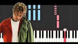 Juice Wrld Black White Piano Tutorial.mp3