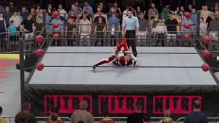 WWE 2K17 Wonder Woman vs. Bloodrayne - Submission Match