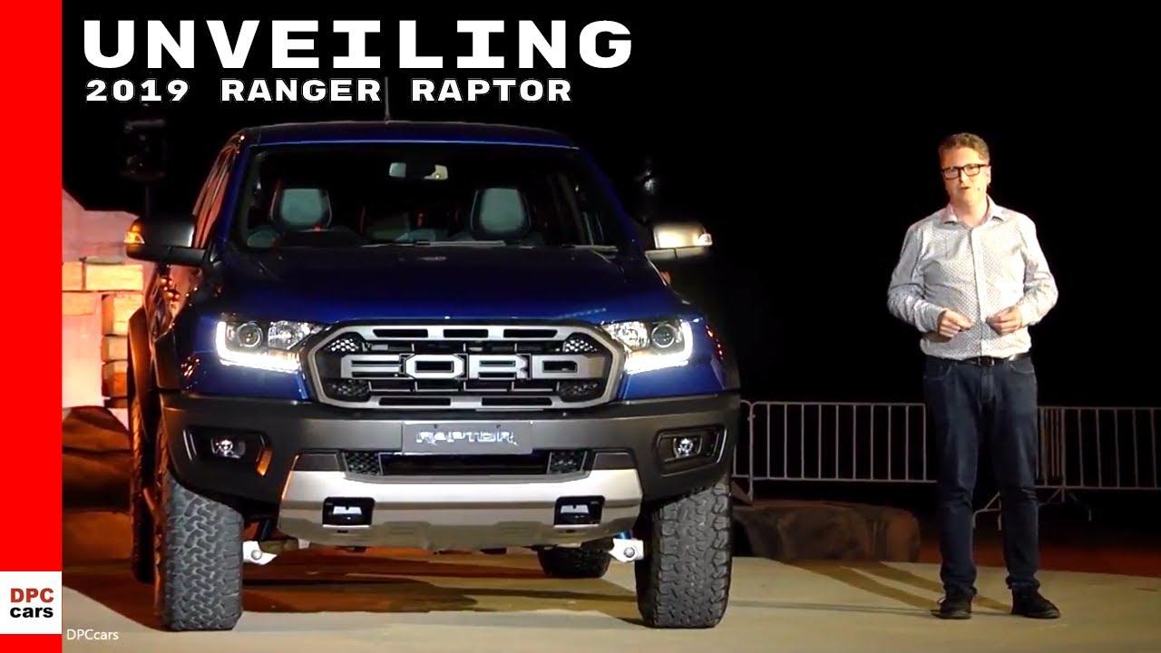 Ford Ranger Raptor 2019 Unveiling Youtube