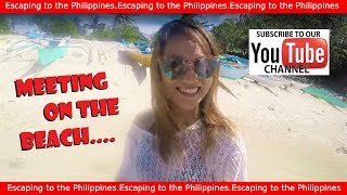 Filipina Meets Foreigner - First Time Dating