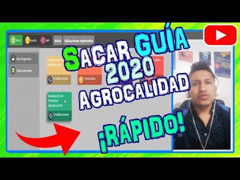 🐮 Sistema GUIA AGROCALIDAD 🐷 2020 [guia De Movilizacion De Ganado Y Cerdos]