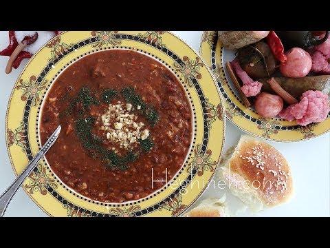 Լոբով Փշեջուր - Dried Bean Soup Recipe - Heghineh Cooking Show In Armenian