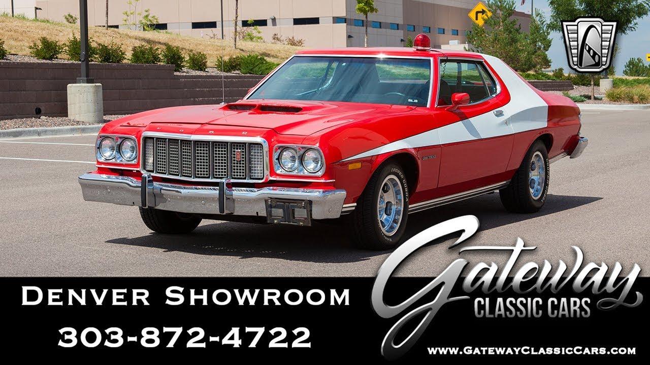 1974 Ford Gran Torino Starsky Hutch Tribute Gateway Classic Cars Denver 640 Youtube