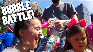 Bubble Battle! (6.13.15 - Day 544) daily vlog