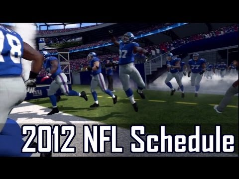 2012 NFL Regular Season Schedule | Primetime Matchups