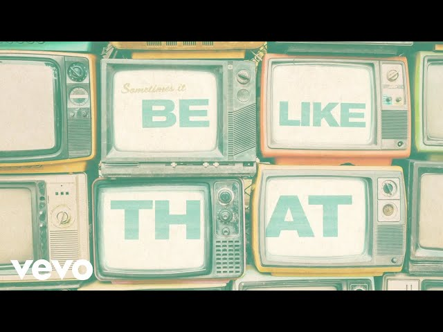 Kane Brown, Swae Lee, Khalid - Be Like That (Lyric Video)