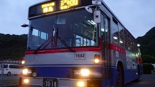 長崎バス(柳・水崎1642:ココウォーク茂里町→樺島)