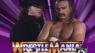 WWE Legends of WrestleMania - EXTRA Movie Theatre Cinemantics Jake Roberts vs. The Undertaker