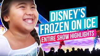 Disney's Frozen On Ice - Entire Show Highlights