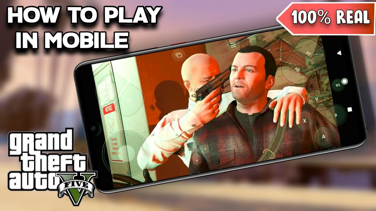 🔥 GTA V How To Play On Mobile Phone ! 100% Real , Full Details Video !!