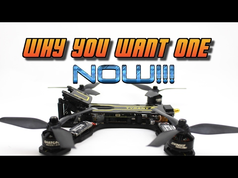 PERFECT BEGINNER FPV RACING DRONE. Tyrant S Review + Flight | part 2