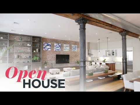 SoHo Loft in Legendary Building, Spice Warehouse | Open House TV