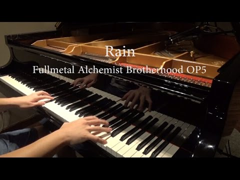 Rain(レイン) -Fullmetal Alchemist Brotherhood OP5 -シド(SID)  piano