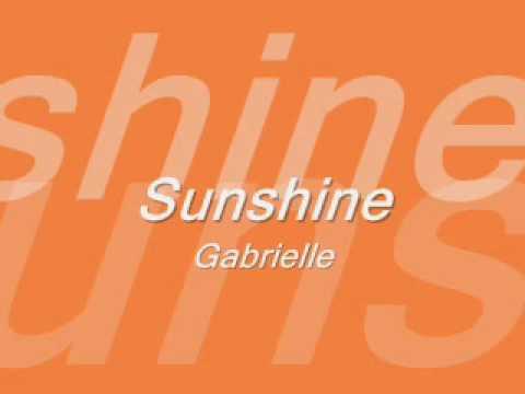 Gabrielle - Sunshine mp3