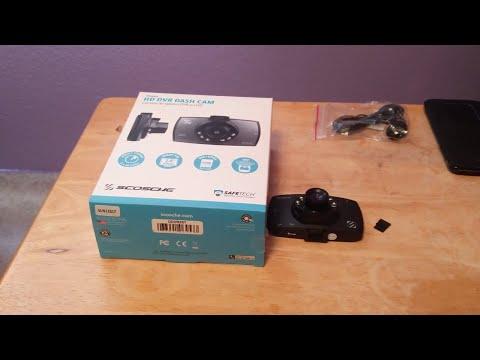 Review:. Scosche DDVR2ST HD DVR Dash Cam
