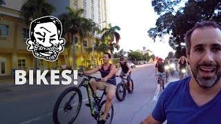Critical Mass Bike Ride