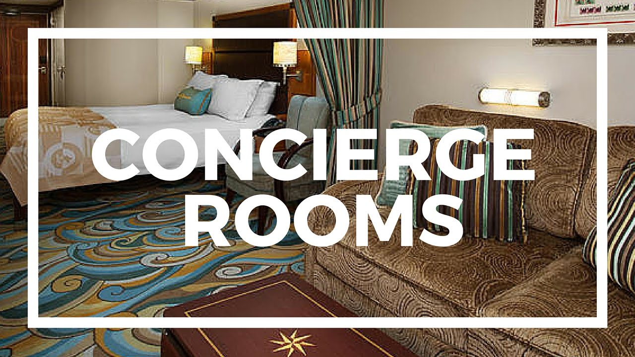 Disney Dream Cruise Ship Concierge Staterooms Video Tour