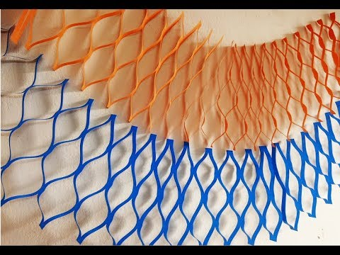 DIY : Mesh Paper Streamers Backdrop | Party Decoration Ideas | Birthday Decorations | Craftastic