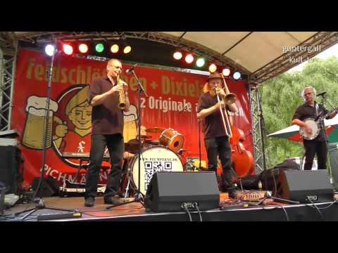 Dixieland in Familie im Dresdner Zoo am 11. Mai 2014