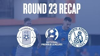 2018 NPL Victoria (Round 23) - Avondale vs Melbourne Knights | Highlights | 04.08.2018