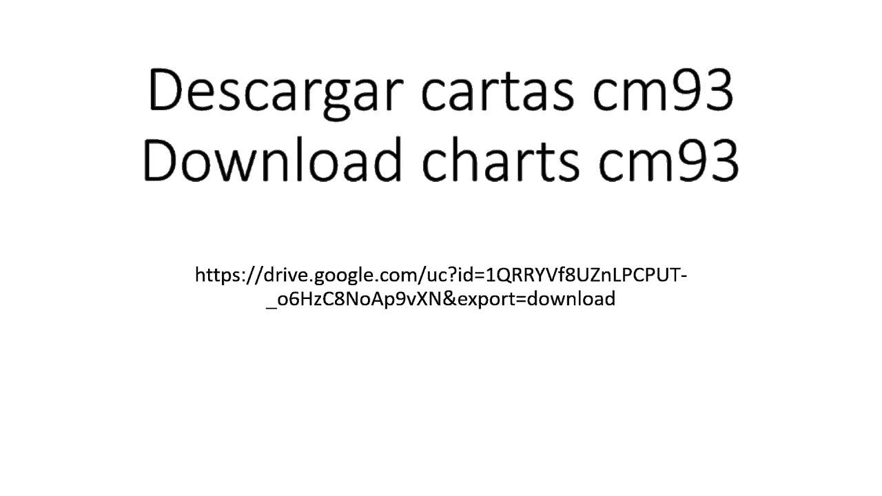 download cm93 charts free