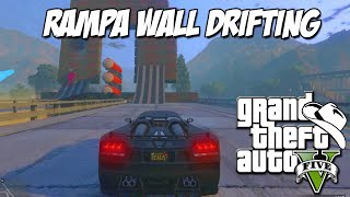 GTA 5 Online (PS4) - Corrida Insana: Super Rampa Wall Drifting