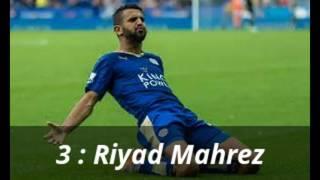 Top 10 arab players // افضل 10 لاعبين عرب في الموسم 2017