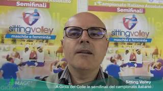 21-05-2017: #svtricolore - Sitting Volley a Gioia del Colle. Il commento alla giornata.