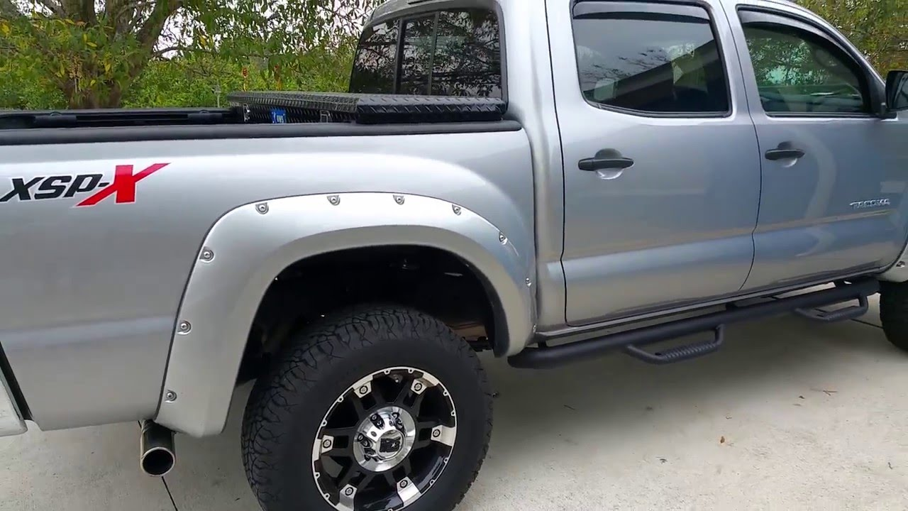 Rough country leveling kit 3 2 on my 2015 tacoma xsp x
