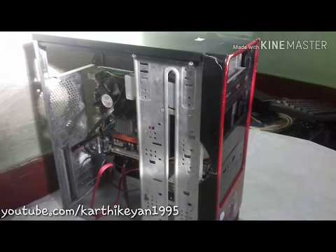 PC Restoration   clean my desktop computer and power switch assembly