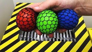 EXPERIMENT Shredding vs Anti Stress Balls thumbnail
