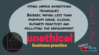 Grade 12 Ethical VS Unethical Business Practice