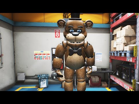 THIS FREDDY SUIT DID SOMETHING I WAS NOT READY FOR! FNAF: Salvage Warehouse: A FNAF Story