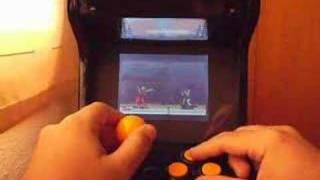 pocket engine arcade playing sf2'