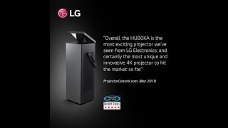 LG HU80KA 4K UHD Laser Smart TV Home Theater CineBeam Projector - 2500 Lumens (2018)