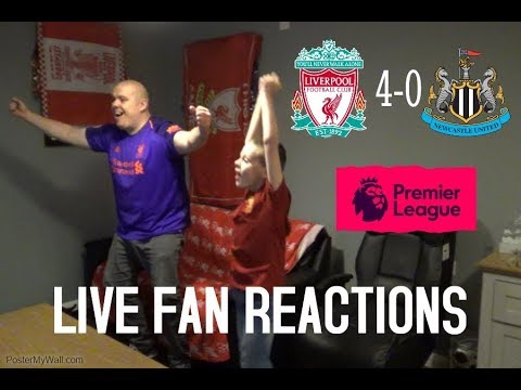 Liverpool 4-0 Newcastle United , Saturday December 26th 2018 LIVE Fan Reactions