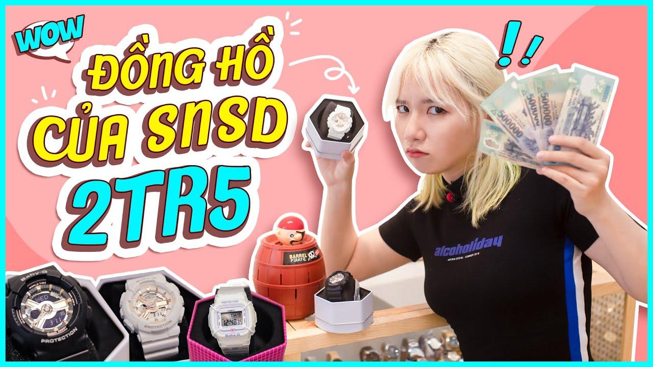 Mel TV Thử Thách Dùng 2 Triệu 5 Mua Đồng Hồ Hiệu ( Casio BabyG, Gshock)