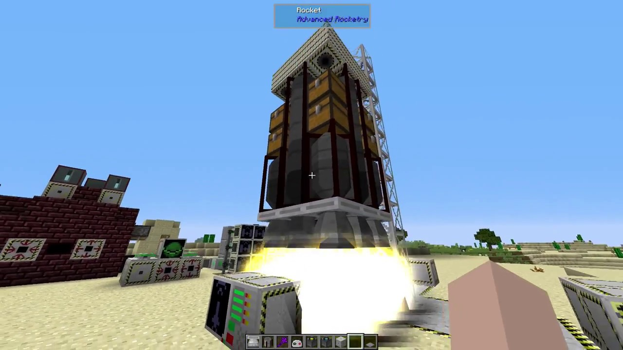 how to make a rocket in galacticraft