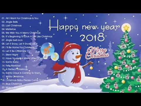 Merry Christmas 2017-2018- Best Christmas Songs Of All Time