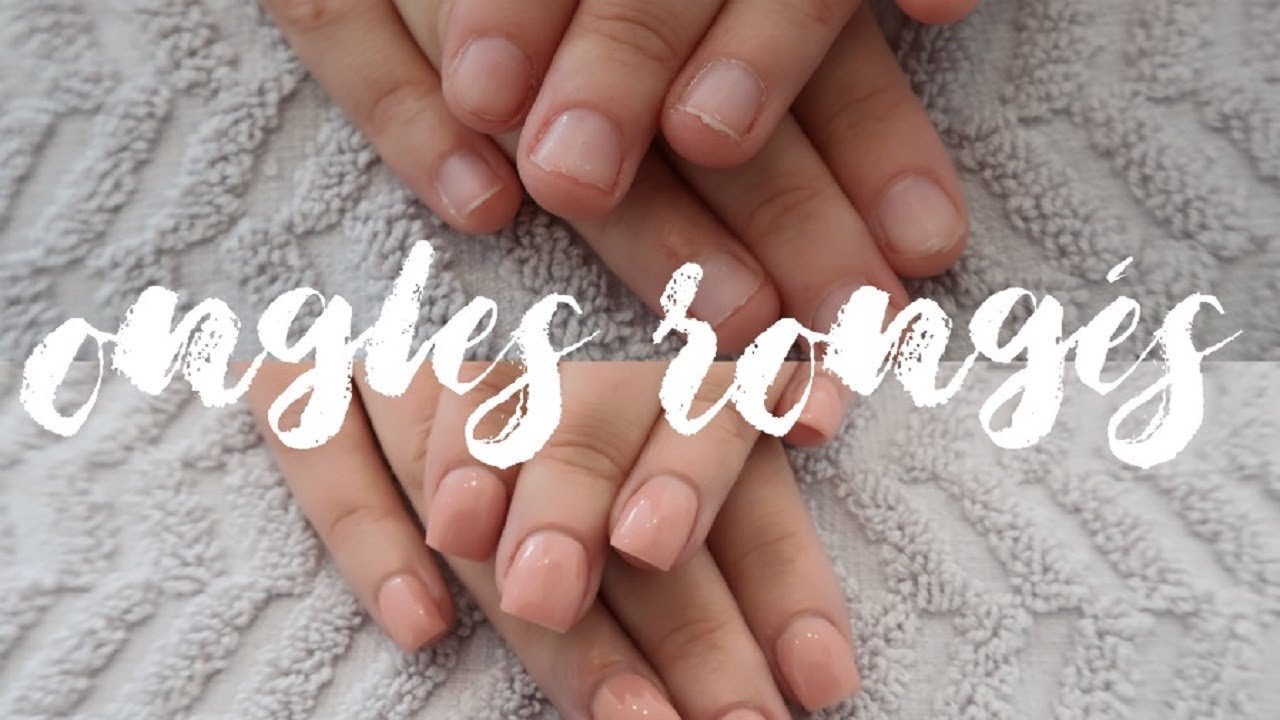 Faux Ongles En Gel Sur Ongles Rongés Melissa Easy Nails