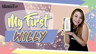 Using Dildo For the First Time | Adam & Eve My First Willy | Suction Cup Realistic Dildo Review