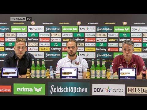 3. Spieltag | SGD - SVS | Pressekonferenz vor dem Spiel