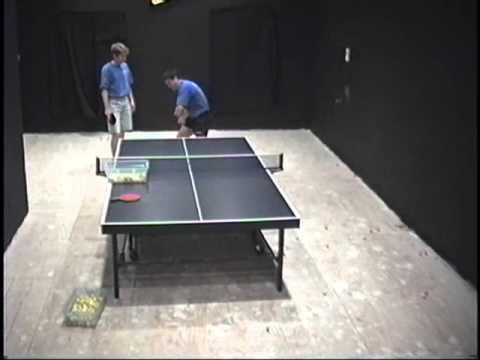 Cheng Yinghua trains Derrick Cone - Table Tennis Coaching - Ping Pong Lessons