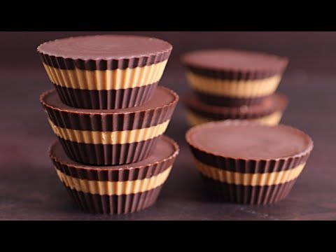 Easy Chocolate Peanut Butter Cups Recipe (Healthy & Vegan)