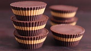 Easy Chocolate Peanut Butter Cups Recipe (Healthy &amp Vegan)