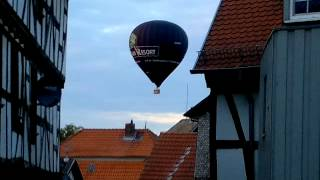 Grünberg, Heißluftballon